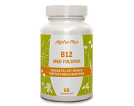 Alpha Plus B12 med Folsyra 60 tabletter