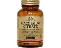 Solgar Magnesium Citrate 120 tabletter